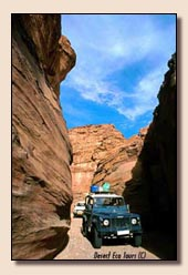 Jeeptour a Israel